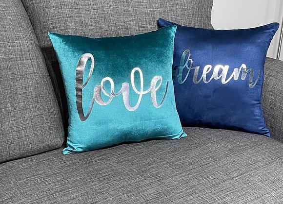 Silver Inspiration Pillows