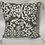 Thumbnail: Shadow Damask Graphite Pillow Set