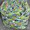Thumbnail: Storage Bean Bag Chair Cover for Kids