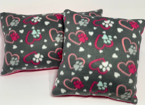 Paws and Hearts Kid's Pillow Set