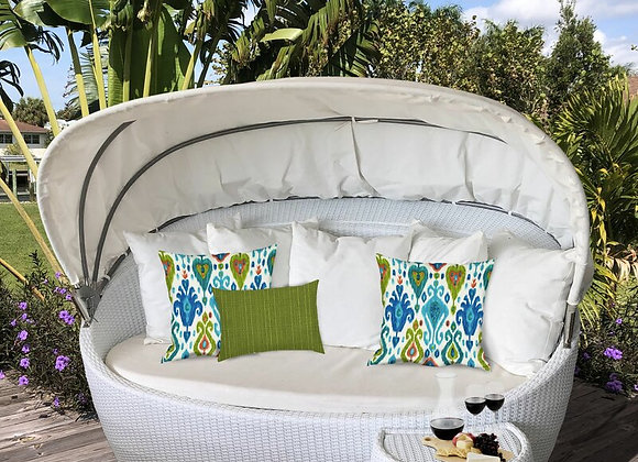 Artisan Ikat Geo Indoor/Outdoor Pillows