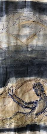 Een één-persoonsinstallatie naar aanleiding van een onderzoek naar Materialiteit en Licht gebaseerd op het stuk 'Planeet Alles' van Esther Gerritsen.