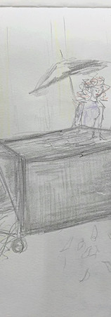 Scenografie voor de afstudeervoorstelling van ATKA student Judith Schrijver