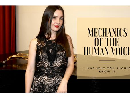 Mechanics of the Human Voice