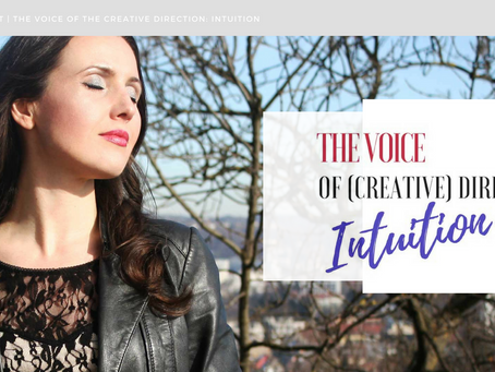 The voice of creative direction - Intuition