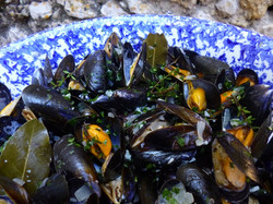 Moules marinière in South of France