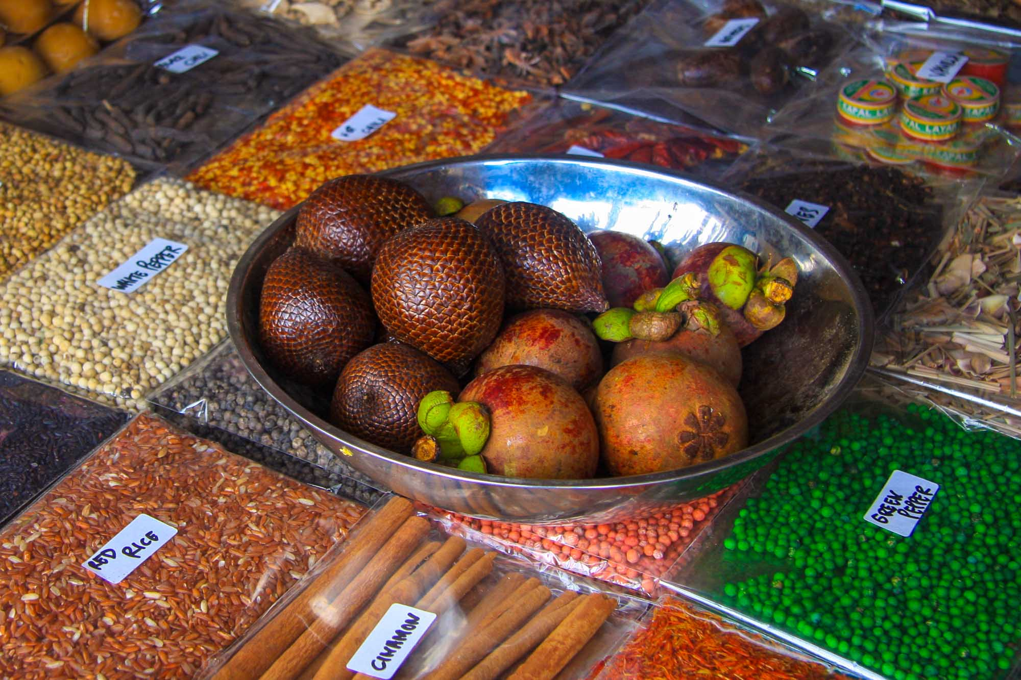 Spices & Fruits in Bali
