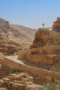 Monastery in the Israeli desert