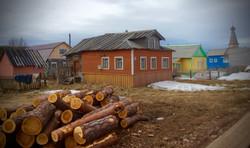 Village in Varzuga - Russia