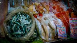 Argentina fish market