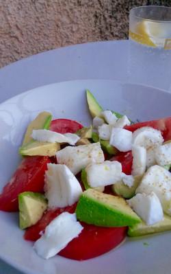 Salad in Corfu - Greece