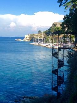 Marina in Corfu - Greece