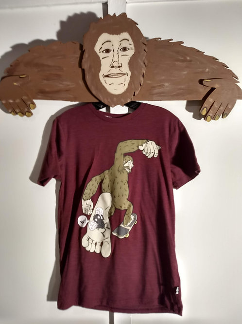 Kids Shawn White Bigfoot Skater T-Shirt