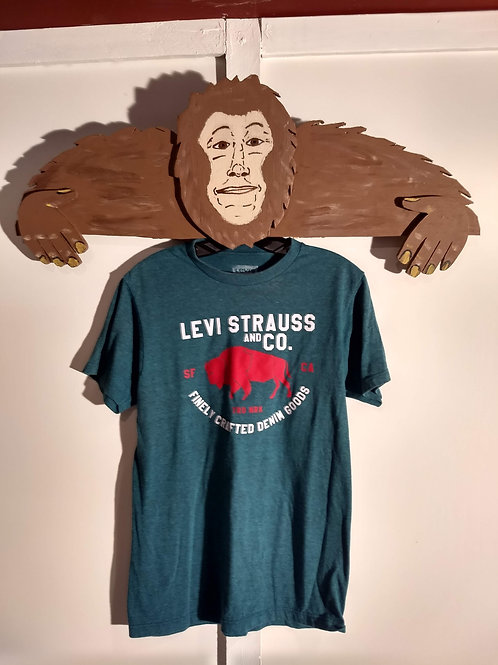 Levi Strauss and Co. T-Shirt with Buffalo Graphic