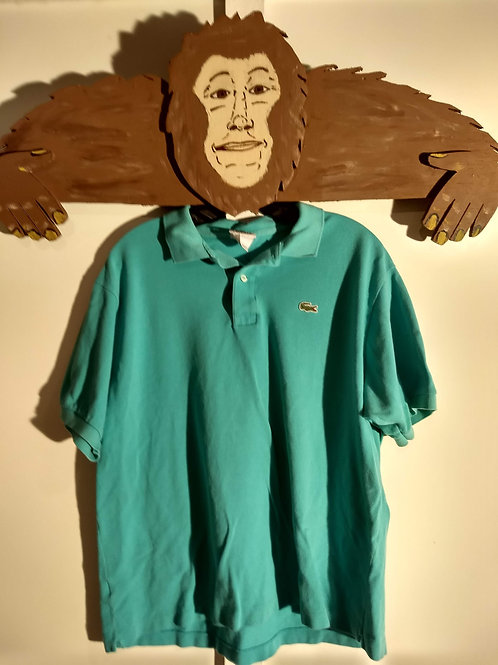 Men's Size 7 (XL) Lacoste Polo (Green)