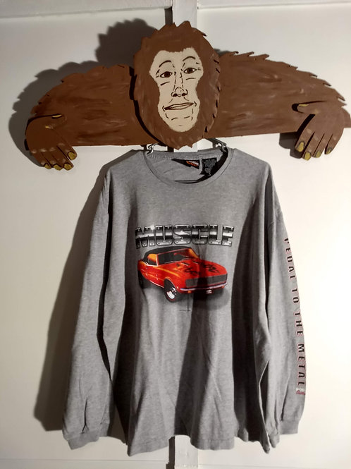 Muscle Car Shirt - Long-Sleeve T