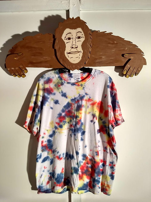 Tie Dyed Short Sleeve T-Shirt