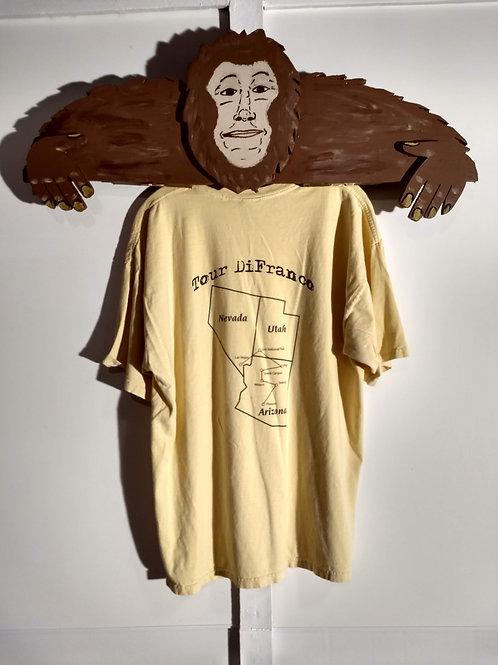 Grand Canyon Tour Difranco Light Yellow T-Shirt