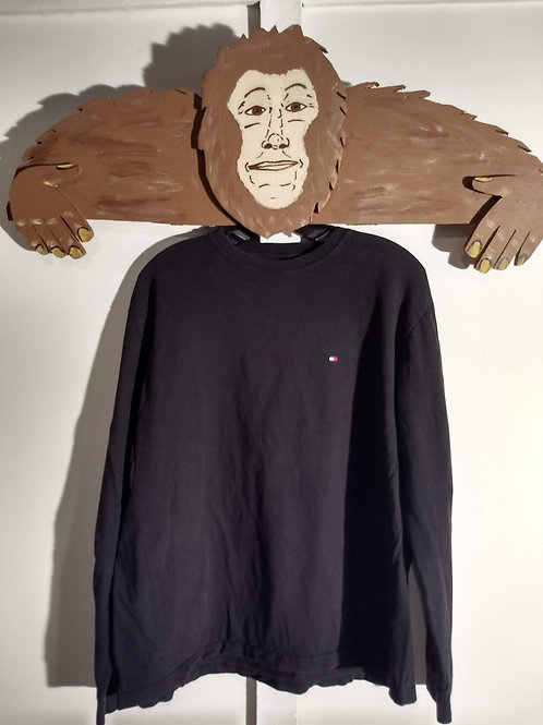 Tommy Hilfiger Long-Sleeve T-Shirt - Black