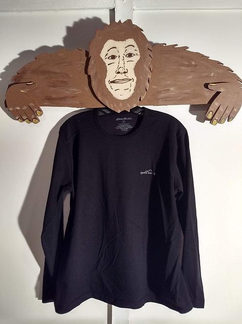Eddie Bauer Black Long-Sleeve T-Shirt