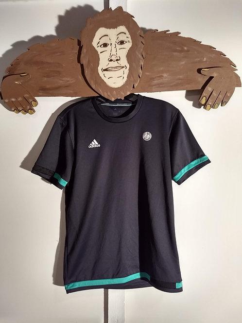 Black with Green Adidas Climacool Roland Garros