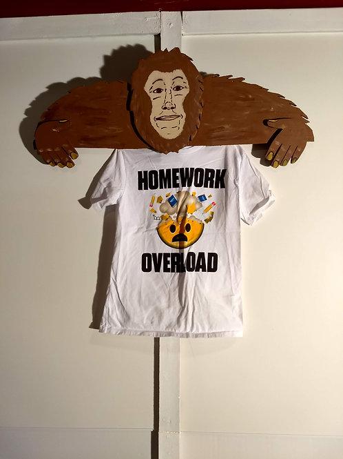 "Kids ""Homework Overload"" T-Shirt"