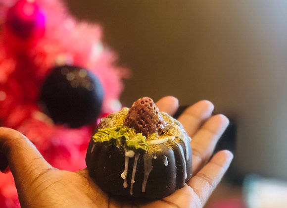 CHOCOLATE BUNDT SOAP CAKE
