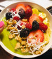 """Green Goodness Smoothie Bowl"""