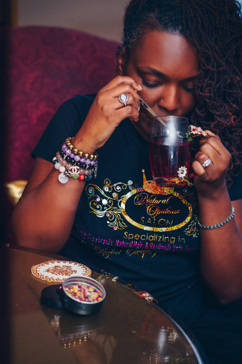 Queens, Drink Hibiscus Tea for hair growth!!!