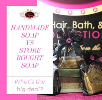 Handmade Soap Vs Store Bought Soap