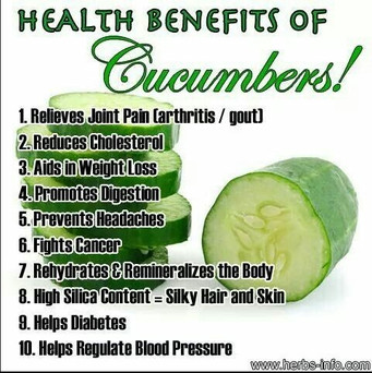 10 reasons to start eating cucumbers now!