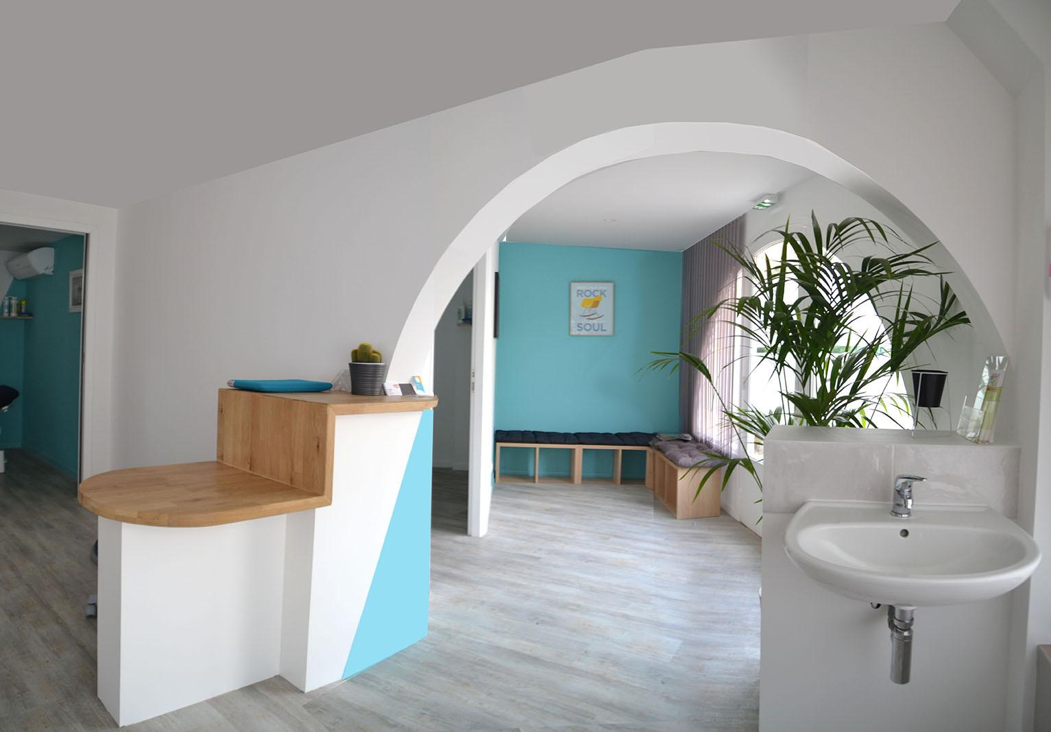 Cabinet 01 Salle de kinesitherapie salle d'attente