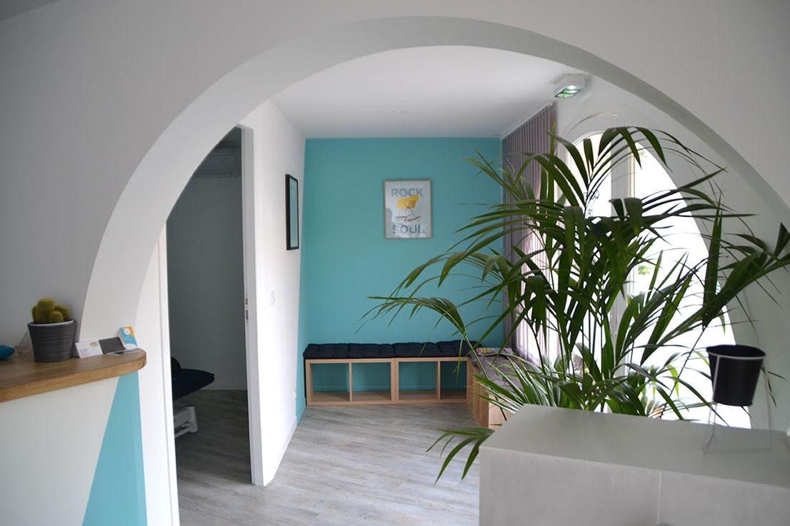 Cabinet 01 Salle d'attente - Les issambres