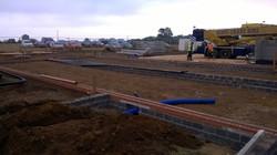 New build community building.
