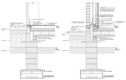Detailed construction drawings.