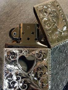 custom engraved zippo lighter