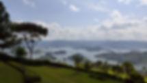 lake bunyonyi, uganda, safari