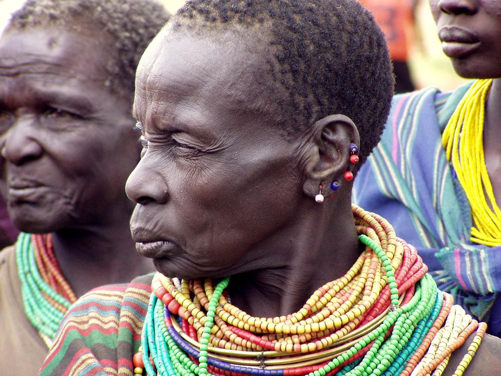 A woman from the Karamajong tribe of northern Uganda