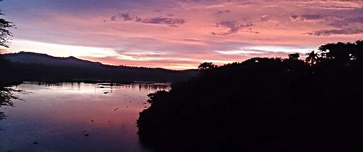 nile, river, sunset, uganda, jinja