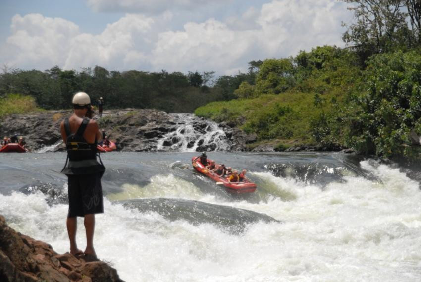 White Water at Jinja