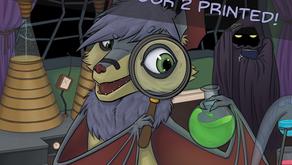 Horror Shop Book 2 - Kickstarter and Livestream