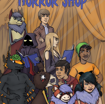 Horror Shop Book 1 - New Cover