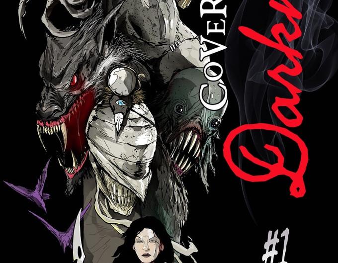 Cover of Darkness - Kickstarter