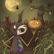 Spike and the Scarecrow