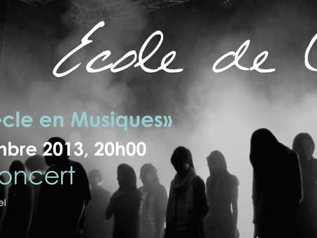 Spectacle à la Maison du Concert, Neuchâtel