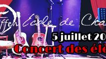 Concert aux Promos!