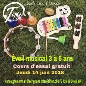 Eveil Musical // cours d'essai gratuit!