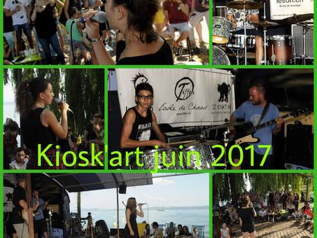 Concert des élèves au Kiosk-Art