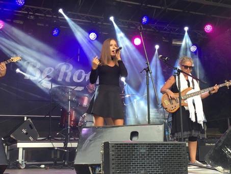 Concert au Berock Festival 2017