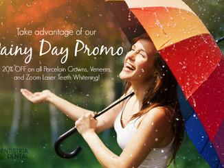20% OFF Rainy Day Promo!
